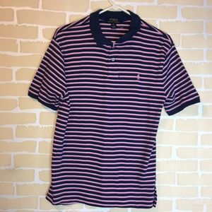 Polo by Ralph Lauren xl(18-20) Blue & Pink Striped